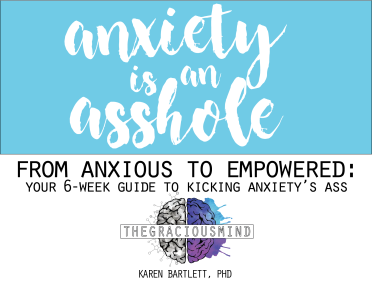 anxiety is an asshole header